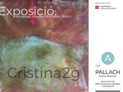 exhibition cristina2g paintings / exposición cristina2g, pinturas